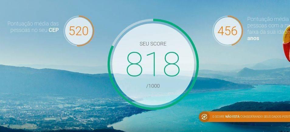 Como acompanhar a evolução do Serasa Score pelo site e App?